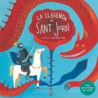 La llegenda de Sant Jordi amb personatges per vestir