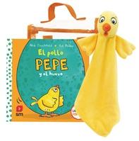 Pack doudou El pollo Pepe y el huevo
