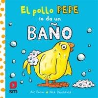 El pollo Pepe se da un baño