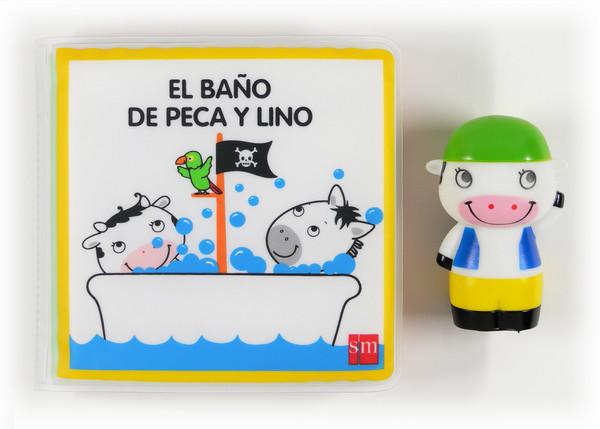 El baño de Peca y Lino