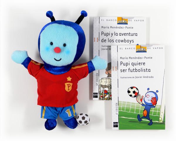 Pack Pupi futbolista