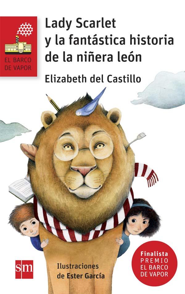 Lady Scarlet y la fantástica historia de la niñera león