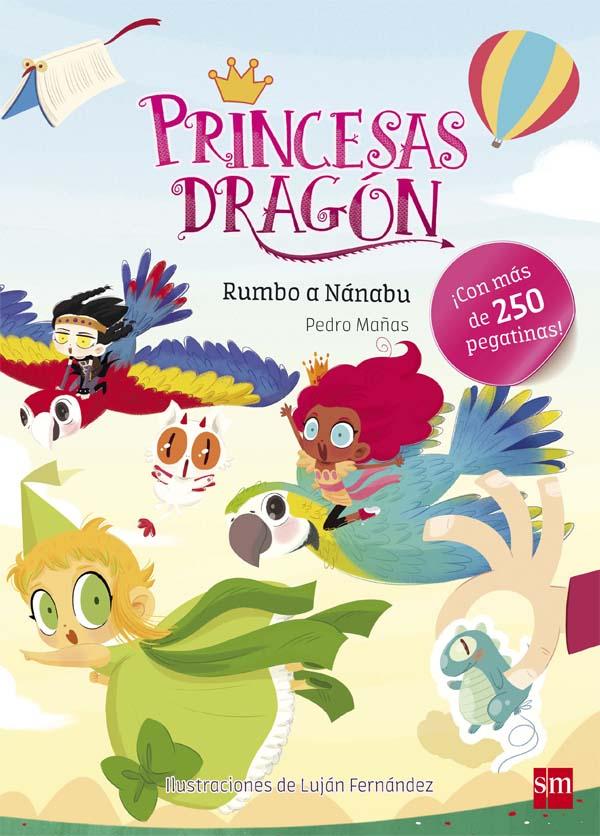 Princesas Dragón: Rumbo a Nánabu
