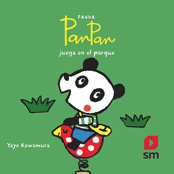 Panda PanPan juega en el parque