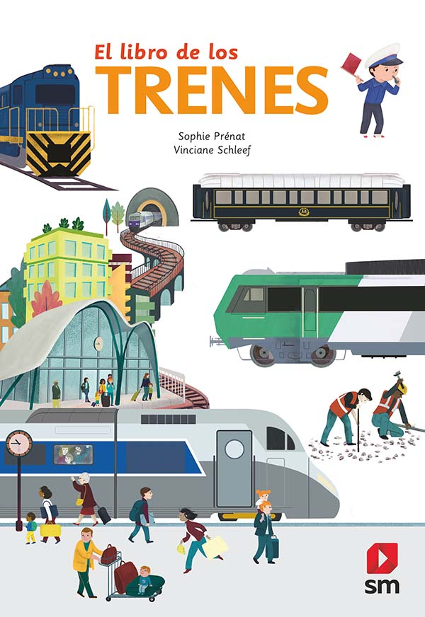 El libro de los trenes